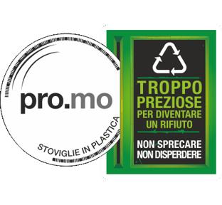 Pro.Mo Stoviglie in Plastica